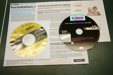 CD Canon 300D (EOS) software Canon, Adobe Photoshop Elements además
