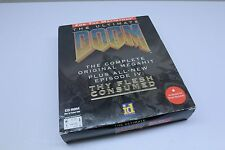 The Ultimate Doom Big Box PC Game for Macintosh COMPLETE Poster TESTED FAST SHIP