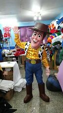 WOODY TOY STORY COWBOY MASCOT FIBER GLASS HEAD COSTUME ADULT SIZE