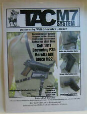 TAC M7 System Holster Pattern Pack by Will Ghromley #6015-21