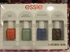 Essie 4 mini nail polish set ~ Boxed ~ Brand new ~ $14.99 RV