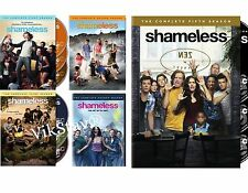 Shameless Complete Seasons 1-5 DVD Bundle Season 1 2 3 4 5  New