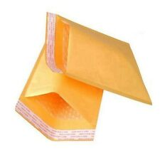 100 5 x 10 #00 Kraft Bubble Mailers Padded Envelopes Mailing Bags Shipping