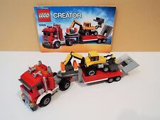 LEGO - City / Creator - Construction Hauler - 31005 Complete with manuals