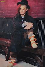 BOY GEORGE - A3 Poster (ca. 42 x 28 cm) - Clippings Fan Sammlung NEU