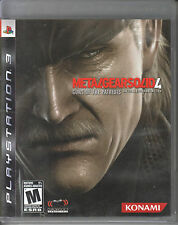 Metal Gear Solid 4: Guns of the Patriots (Sony PlayStation 3) Complete!