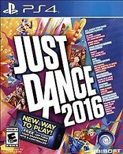 Just Dance 2016 RE-SEALED Sony PlayStation 4 PS PS4 GAME 2K16 16