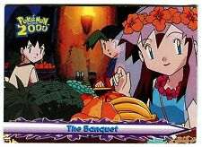 POKEMON English TOPPS 2000 CARD little Used #26 THE BANQUET