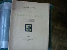LES HOMMES NOUVEAUX CLAUDE FARRERE / G GEO -FOURRIER 1928  E O