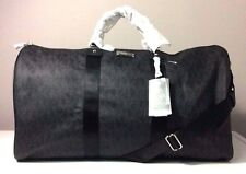 Michael Kors Signature Black X-Large Travel Duffle Bag