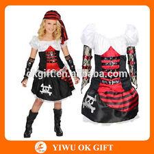 Costume piratessa deluxe bimba