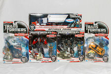 TRANSFORMERS DOTM lot 5 voyager Ironhide,Optimus Prime trailer, Bumblebee