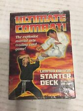 Ultimate Combat! 60-Card Starter Deck For Card Game Judo/Taekwando/Wrestling CCG