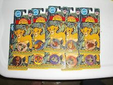LION KING POGS BY CAN ADA GAMES (10) UNOPENED PACKS (70) POGS & (10) SLAMMERS