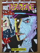 DEADFACE - USA HARRIER COMICS - No 1 1987