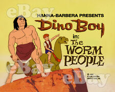 NEW!! EXTRA LARGE! DINO BOY Poster Print HANNA BARBERA Main Title SPACE GHOST