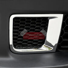 New Chrome Front Bumper Air Vent Cover Trim For Jeep Renegade 2015 2016