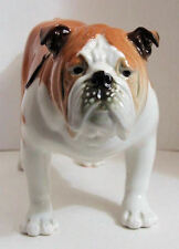 Large Lomonosov Porcelain Figurine of a ENGLISH BULLDOG
