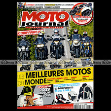 MOTO JOURNAL N°1997 BMW R 1200 GS, KAWASAKI 1000 VERSYS, TRIUMPH TIGER EXPLORER