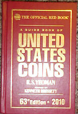 2010 Red Book to U.S. COINS ( HARD Bound-63nd Edition)