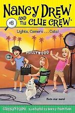 Lights, Camera...Cats! (Nancy Drew and the Clue Crew)-ExLibrary