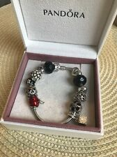 Authentic Pandora Bracelet 7.1 With 12 Charms