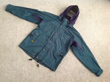 VINTAGE BERGANS OF NORWAY MOUNTAIN PARKA JACKET WITH STOWAWAY HOOD SIZE MEDIUM