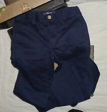Cherokee Ultimate Khaki Navy Blue Chinos Dress Pants Size 14