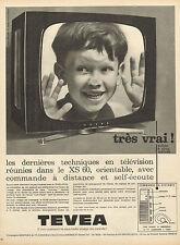 Publicité Advertising 1964  Télévision TEVEA  XS 60
