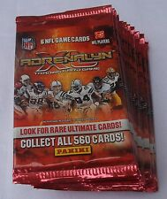 PANINI NFL TRADING CARDS ADRENALYN XL 2010 LOT OF 16 RETAIL PACKS NEW & SEALED