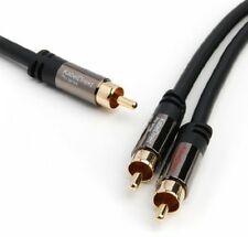 KabelDirekt 3m Y Subwoofer Audio Cable (1 X RCA To 2 X RCA) - PRO Series