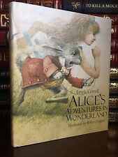 Alice in Wonderland by Carroll Illustrated by Robert Ingpen New Deluxe Hardcover