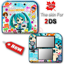 Hatsune Miku Amazing Skin Gloss Vinyl Sticker Decal Cover #2 for Nintendo 2DS