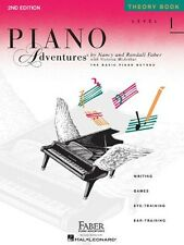 Level 1 Theory Book Piano Adventures, New, Free Shipping