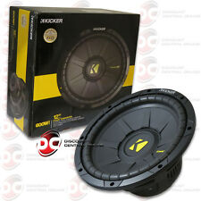 "BRAND NEW KICKER 12-INCH 12"" DUAL 4-OHM CAR AUDIO SUBWOOFER 600W MAX"
