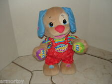Fisher-Price Dance & Wiggle Toy;Laugh & Learn Puppy Plush Learning Toy;2011