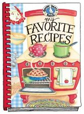 NEW Gooseberry Patch MY FAVORITE RECIPES Spiral Bound Hardcvr Blank Recipe Book