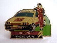 Insigne PIN'S voiture CITROEN réseau sport, voir photo.
