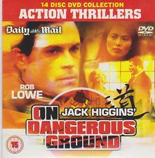 JACK HIGGIN`S ON DANGEROUS GROUND PROMO DVD