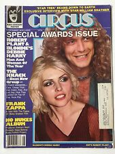 Circus Magazine Special Awards Issue February 1980 Blondie, Zappa, KISS Complete