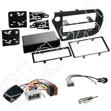Honda Insight 2-DIN Blende + Fach + Alpine Lenkradfernbedienungs-Adapter Set