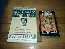 2 Time Life Magazine Books Right Places Right TImes Henry Luce and His Empire
