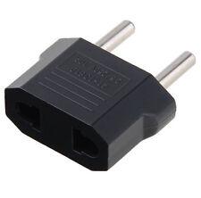 5PCS AU/US to EU AC Power Plug Travel Conventer 2-pin Socket 250V AC 10A Hot