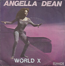 """7"""" 45 TOURS FRANCE ANGELLA DEAN """"World X / How And For Ever"""" 1979 DISCO"""