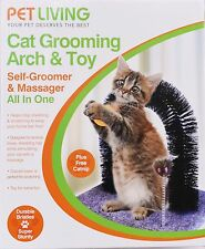 Cat Kitten Massaging Scratching Scratcher Pet Arch