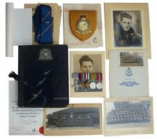 WW2 BRITISH GROUP OF 5 DISTINGUISHED FLYING CROSS & CAMPAIGN STARS,EPHEMERA