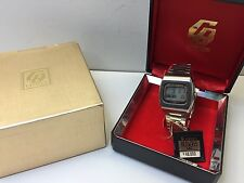 MINT NOS DOW - Citizen Crystron LC Digital Quartz Watch LCD with box uhr MOT