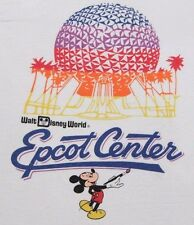 2xs * vtg 80s EPCOT CENTER mickey mouse disney world t shirt * 17.136