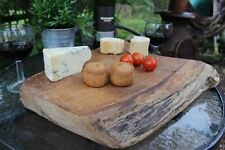 Rustic Solid Ancient Scottish Oak chopping Bread Board/ food server
