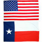 Fahnen-Set TEXAS und USA 90x150 NEU OVP - Flag United States of America & Texas